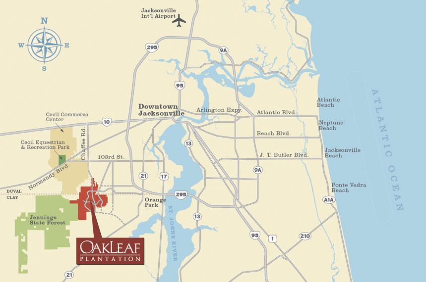 Oakleaf Plantation 6 400 Unspoiled Acres Southwest Of